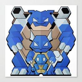 Blue Starter Canvas Print