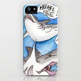 Shark Tickles iPhone Case