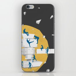 satellite iPhone Skin