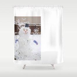 Snowman 2 Shower Curtain