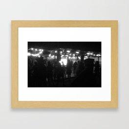 Cash Bar Framed Art Print