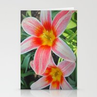 tulips Stationery Cards featuring Tulips by Vitta