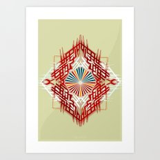 abstrkt placement Art Print