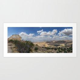 Mount Nebo Art Print