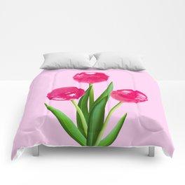 LOLLIPOP TULIPS PINK Comforters