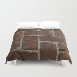 Brick Pattern in Spain Duvet Cover