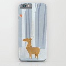 Origami deer in the Woods iPhone 6s Slim Case
