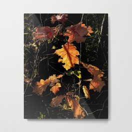 Autumn Poetry Metal Print
