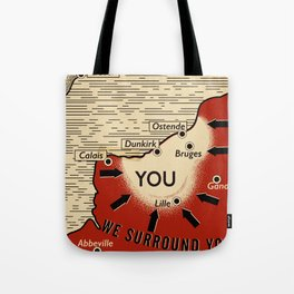 We Surround You Tote Bag