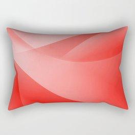 Red Wallpaper Rectangular Pillow