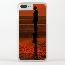 Four Gormley Iron Men Clear iPhone Case