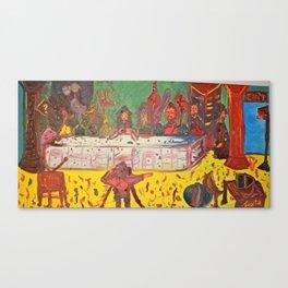Last supper #3 / Ultima Cena #3 Canvas Print