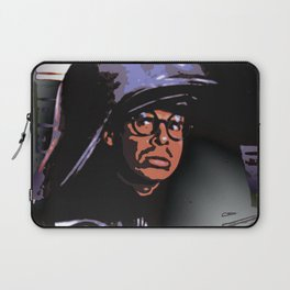 Space Spoof Rick Rages Laptop Sleeve