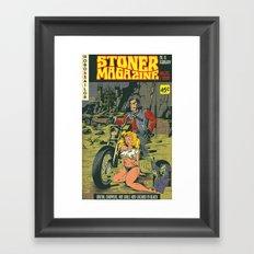 Hobo and Sailor. Stoner Magazine Framed Art Print