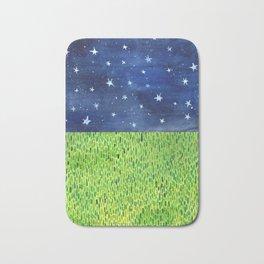 Grass & Stars Bath Mat