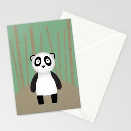 Curious little Panda Stationery Cards