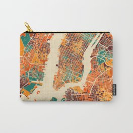 New York Mosaic Map #2 Carry-All Pouch