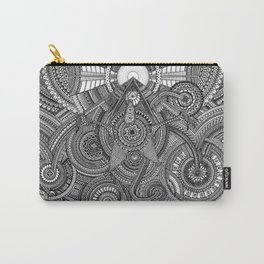 Tiny Geometries Carry-All Pouch
