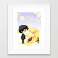 ouat Framed Art Prints featuring OUAT - Buttercup Princess by Yorlenisama