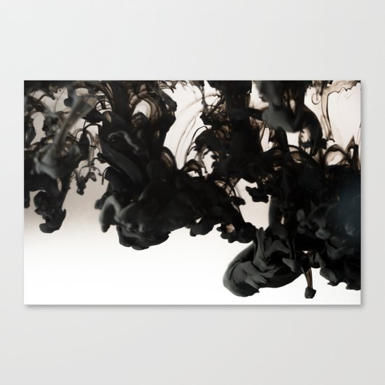 Ink Drop Canvas Print