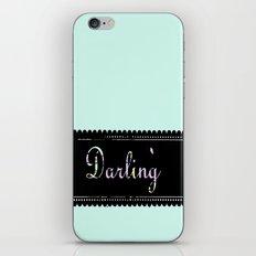 darling iPhone & iPod Skin