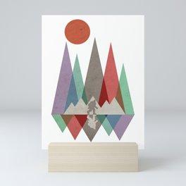 Squatch Mountain Mini Art Print