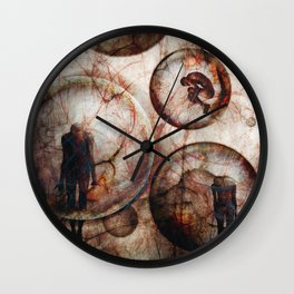 Tell me where you are today.. Wall Clock
