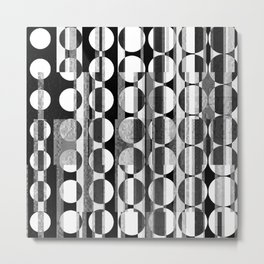 rounds about Metal Print