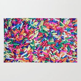 Rainbow Sprinkles Rug
