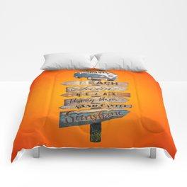 Pura Vida - Desire of summer holidays Comforters