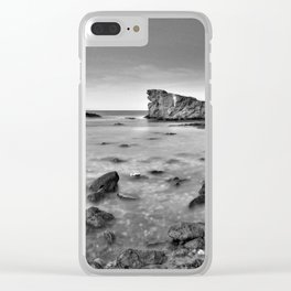 """""""Submarine Reef"""". Sunset at the beach Clear iPhone Case"""