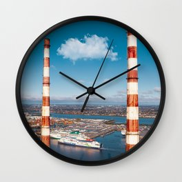 Chimneys  Wall Clock