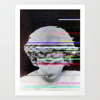Neons Art Print