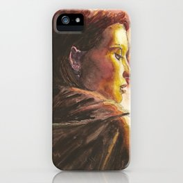 The Girl Who Played With Fire iPhone Case