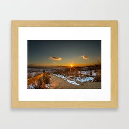 Pure Fire Framed Art Print