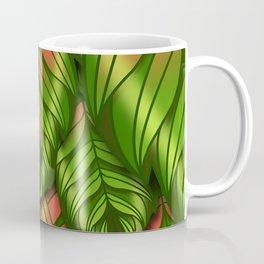 The Dusk Plumed Leaf Coffee Mug