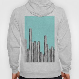 Watercolor of cacti XVII Hoody
