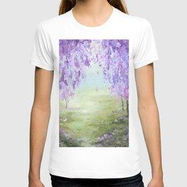 Wisteria Trees T-shirt