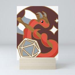 Barbarian Snake (D&D Class Snakes) Mini Art Print
