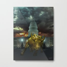 Why Washington Angers Us Metal Print