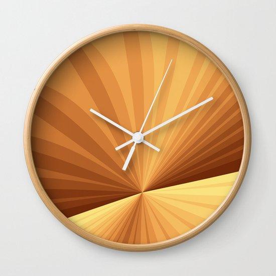 Wall Clock Art Design : Graphic design wall clock by gabiw art society