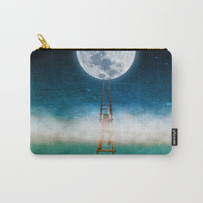 Reach for the Moon Carry-All Pouch