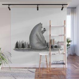 Giant Bear Wall Mural
