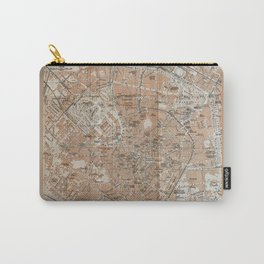 Milan, Italy / Milano, Italia antique map Carry-All Pouch