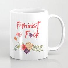 Feminist as F*ck (Censored Version) Mug