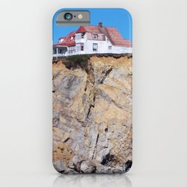 Living at the End of the World iPhone Case