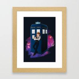Another kind of Doctor Framed Art Print