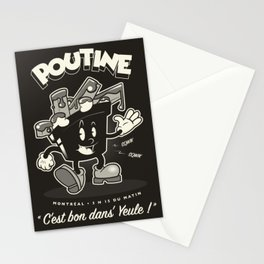Poutine Stationery Cards