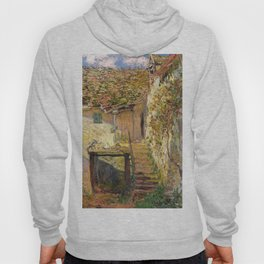 "Claude Monet ""L'escalier"" (""The staircase"")(1878) Hoody"