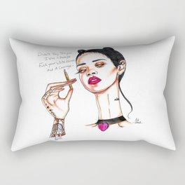 Rihanna // Needed Me Rectangular Pillow
